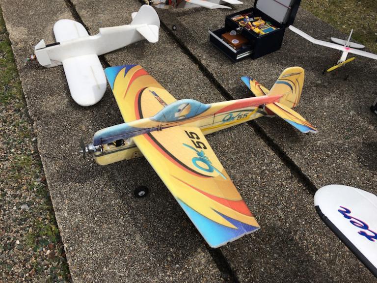 Un Yak55 des 2 Christophe.
