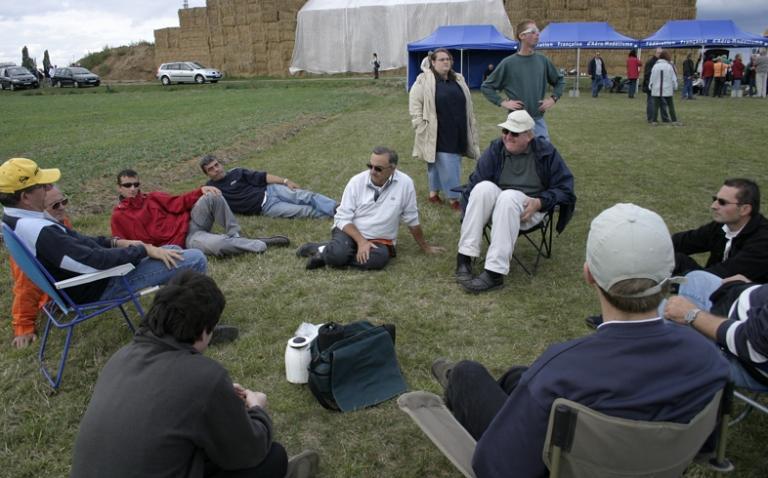 Briefing des Coucous aux 3 heures de l'Essonne 2005