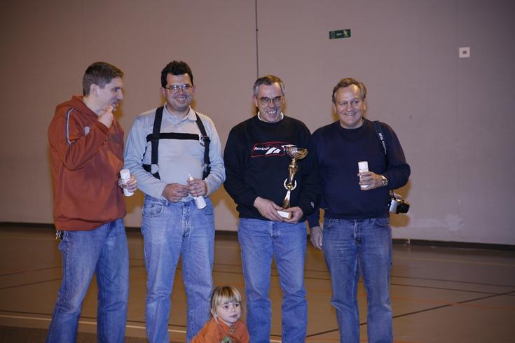 L'équipe des Coucous aux 91 mn de l'Essonne 2004