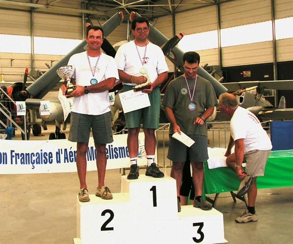 Podium du championnat de France 2005 F3I. Pierre Dormoy 1er.